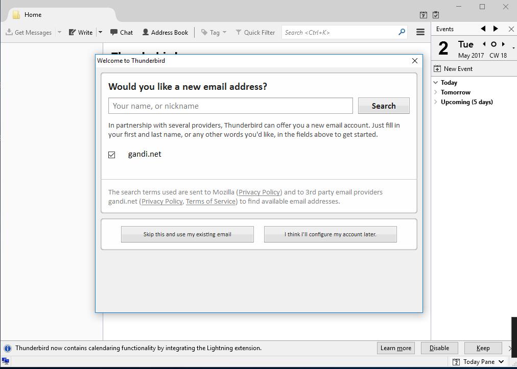 Screenshot 3 - طريقة تشغيل البريد الإلكتروني على برنامج الـ Thunderbird - طريقة تشغيل Thunderbird, تشغيل الايميلات انجاز ميديا, برنامج Thunderbird, Thunderbird انجاز ميديا, Thunderbird EngazMedia