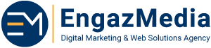 EngazMedia Logo - لوجو إنجاز ميديا - شعار إنجاز ميديا