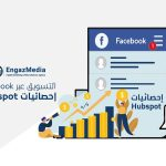 التسويق عبر Facebook   إحصائيات Hubspot